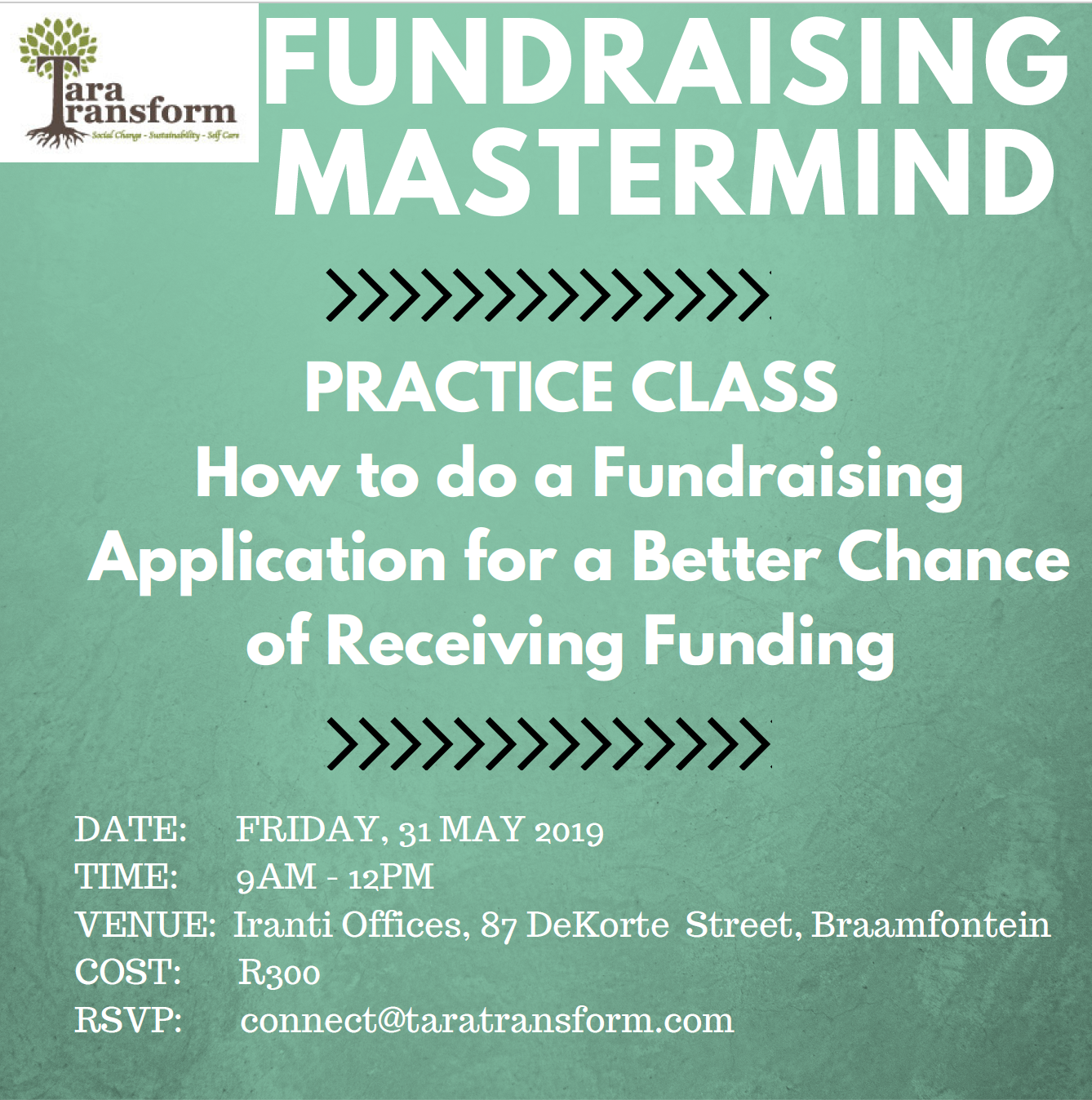 Fundraising Mastermind short format - Tara Transform