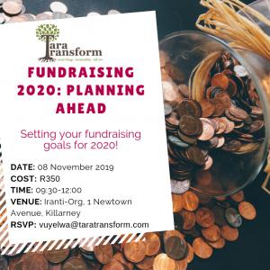 Fundraising 2020 practical class
